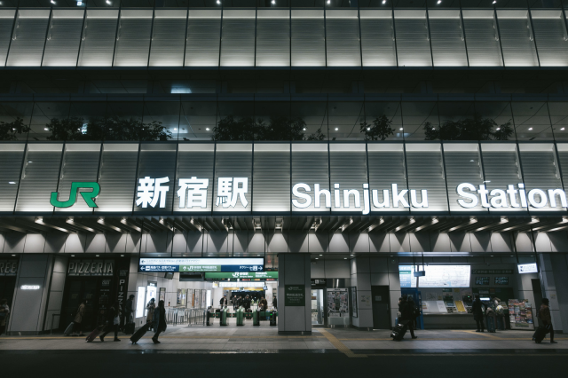 Crazy photo shows how Tokyo's Shinjuku Station can be as confusing as a video game dungeon