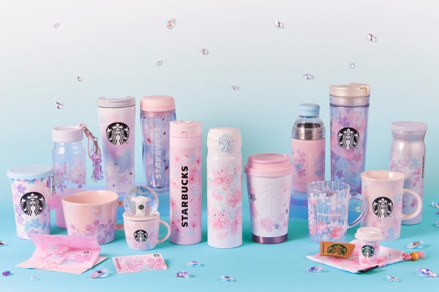 Starbucks Japan reveals second sakura cherry blossom drinkware range for 2020