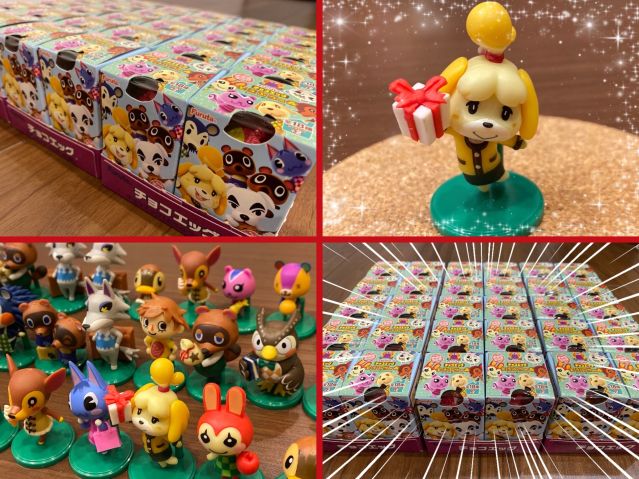 We can't wait for New Horizons, so we pigged out for Japan's Animal Crossing Choco Egg figures