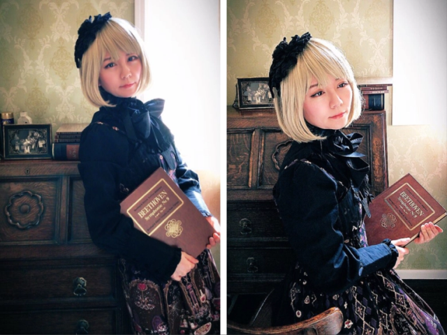 Japan's gothic lolita fashion rental shop gives our reporter her first taste of lolita life【Pics】