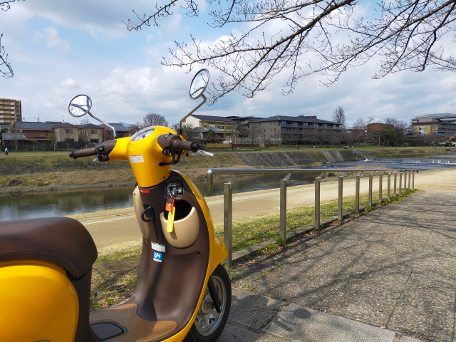We test out Honda's free rental motorbike program and eat disease-thwarting mochi【Photos】
