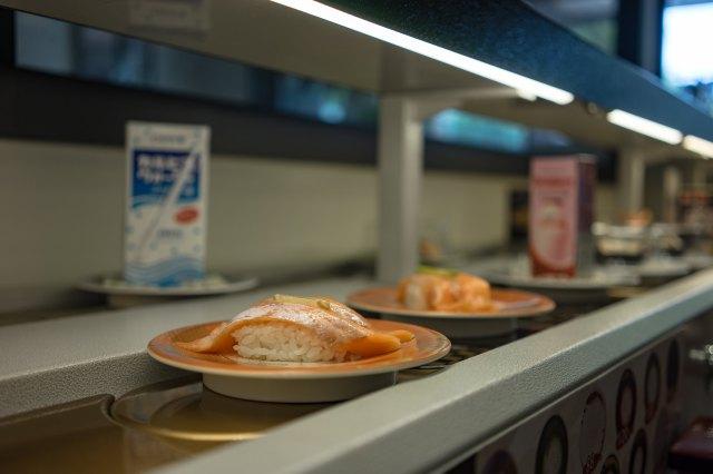 Japanese revolving sushi restaurant chain stops revolving during coronavirus outbreak