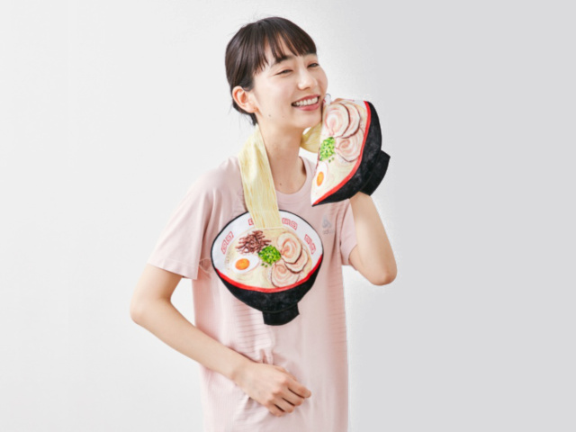 Wear your love of ramen around your neck with a noodle towel from Japan