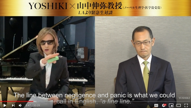 Rock star Yoshiki donates to Meals on Wheels, asks why coronavirus cases in Japan are so low
