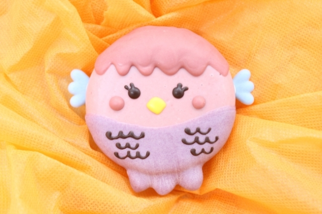Magical yokai from Edo Period with powers against sickness makes appearance as cute doughnut