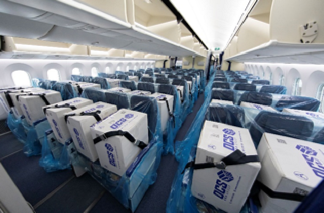 With no passengers, Japanese airline fills every seat on plane with masks and medical supplies