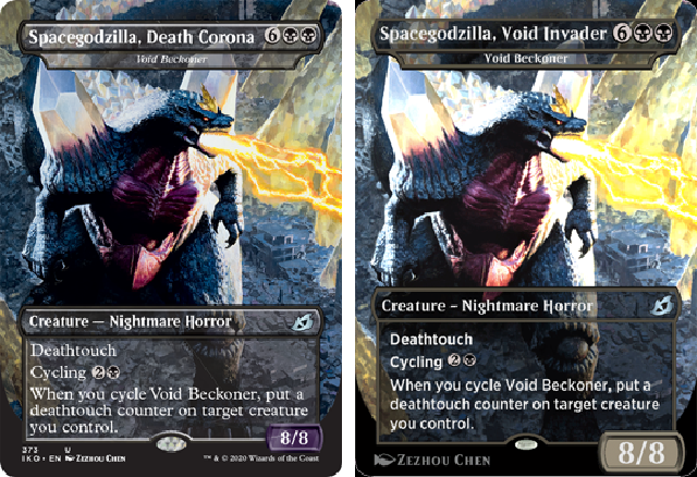 Corona Beam of Death Godzilla Magic card to be altered due to coronavirus pandemic