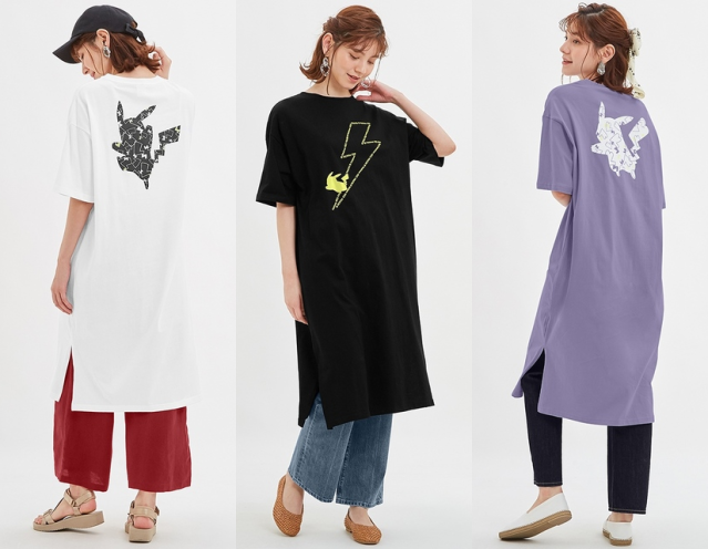New GU Pokémon fashion line is ready to stay home or go out with dresses, roomwear, and underwear