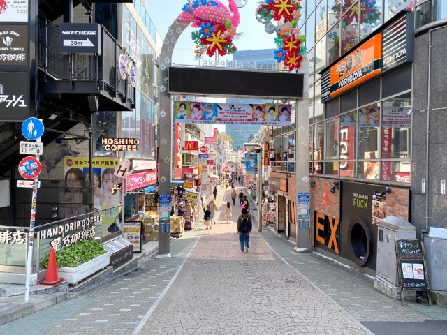 Harajuku looks eerily quiet during the coronavirus outbreak 【Photos】
