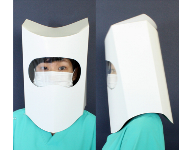 Beyond face masks – Japanese company selling anti-infection paper helmets【Photos】