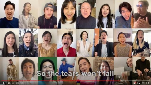 Japanese artists in New York sing Sukiyaki together in heartwarming video