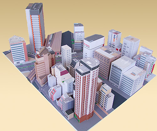 Cancelled your trip to Tokyo? Free papercraft download lets you build Akihabara in your own home