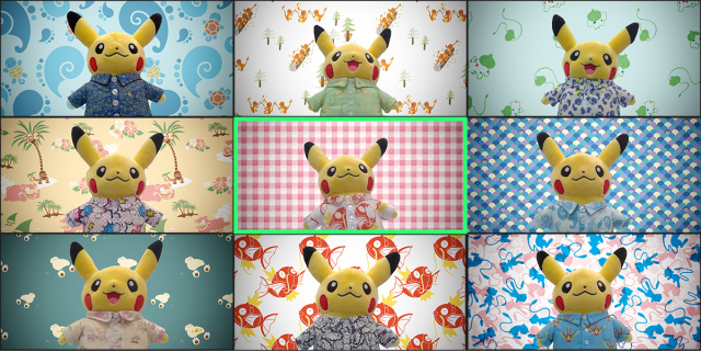 Telecommute with Pikachu! Over 250 Pokémon video chat backgrounds now free to download