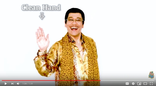 "Pen-Pineapple-Apple-Pen singer washes hands against coronavirus in new ""PPAP 2020"" song 【Video】"