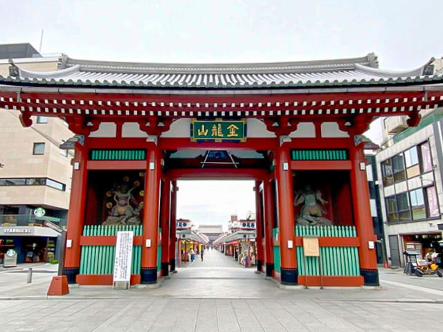 Sensoji temple at Asakusa gets a new giant lantern