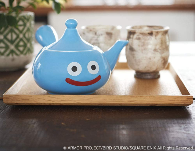 Enjoy some slime tea time with the Dragon Quest kyusu teapot from the Square Enix e-Shop【Photos】