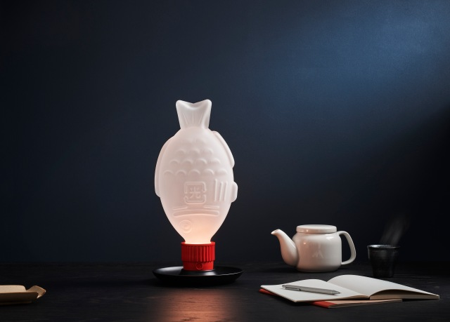 Decorate your room like a bento box with the new soy sauce bottle light
