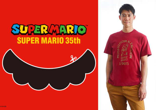 It's-a them! Uniqlo's awesome line of Super Mario 35th anniversary T-shirts【Photos】