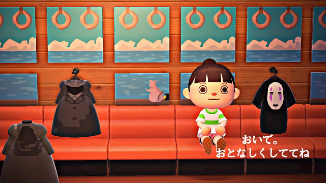 Animal Crossing fan recreating all of Ghibli's Spirited Away in New Horizons, and it's incredible