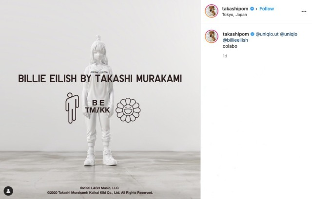 Uniqlo teams up with Billie Eilish and Takashi Murakami for exciting new UT collaboration【Videos】