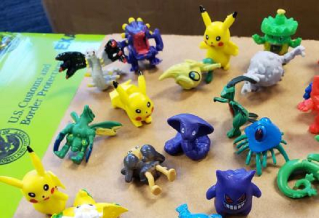 U.S. government officials catch 86,400 Pokémon bootlegs without using a single Poké Ball
