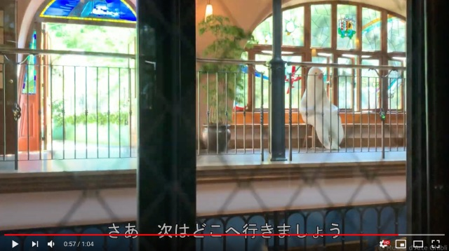 Ghibli Museum video takes us into the steam punk elevator and up the spiral staircase【Video】