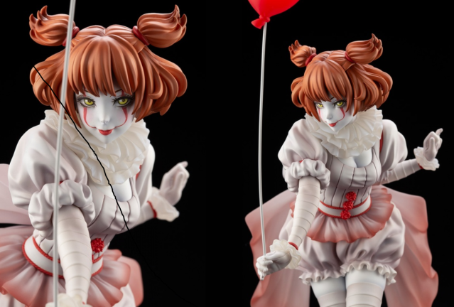 It's Pennywise remade as busty anime girl figure strikes fear in heart, funny feelings elsewhere