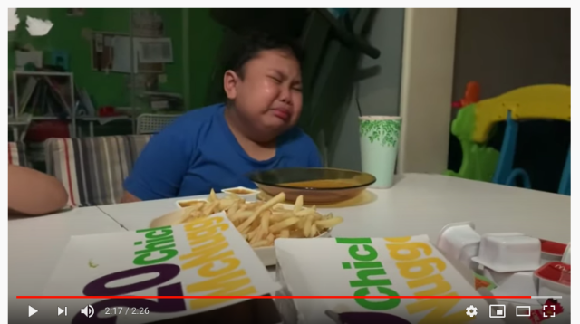 Boy cries tears of joy after eating McDonald's for the first time since lockdown began [Video]