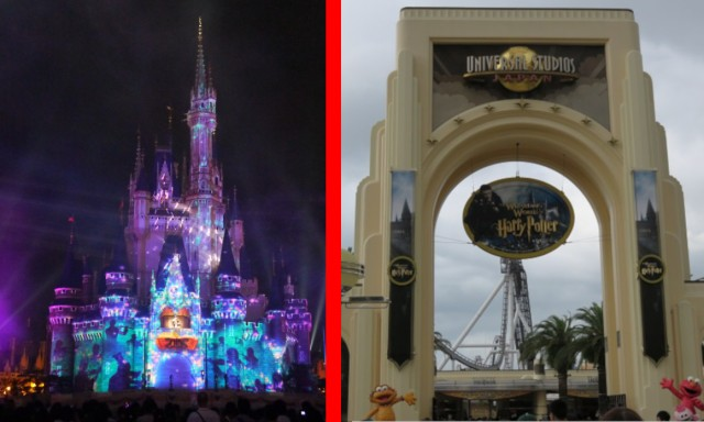 Tokyo Disneyland or Universal Studios Japan, which is better? Poll reveals sharp regional divide