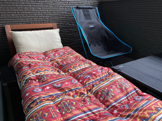 Enjoy the great outdoors without leaving your home – We try camping on our balcony