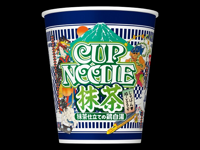 Two tastes in one with matcha green tea ramen, kombucha udon coming from Cup Noodle's Nissin