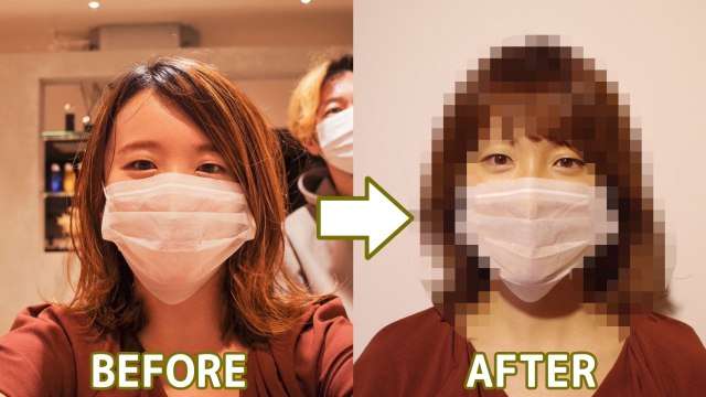 Pandemic hair trend: A haircut to match your mask not your face