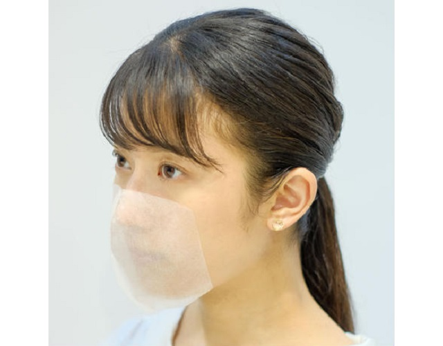 You can now get stick-on salon masks for haircuts in the coronavirus age in Japan