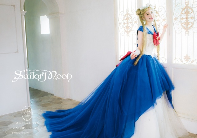 Sailor Moon Wedding Dress Collection lets you dress like Usagi, Tuxedo Mask as you say I do【Pics】