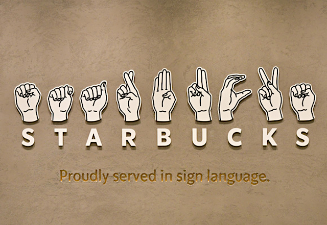 Starbucks Japan opens first sign-language store in Tokyo