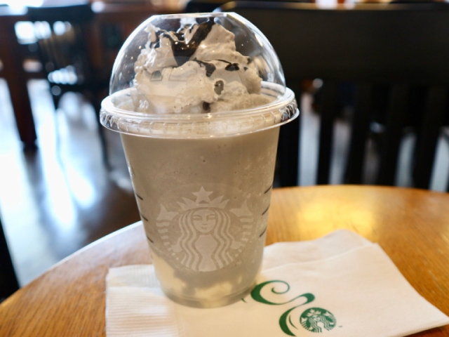 Tasting Starbucks' Sesame Almond Tofu Frappuccino, the drink you can't get in Japan or the U.S.