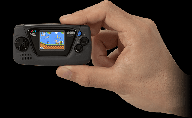 Sega announces Game Gear Micro, an extra-tiny retro system with a startingly high price