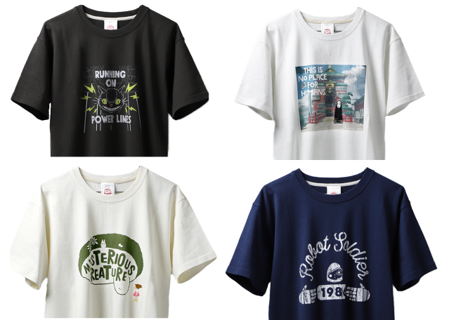 Awesome Studio Ghibli T-shirt line combines high fashion and anime history in 22 designs【Pics】