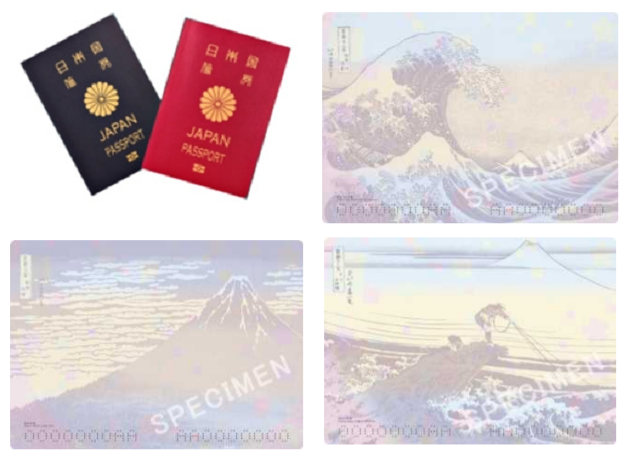 Japan's new ukiyo-e woodblock print passports are beautiful, now in travelers' hands【Photos】