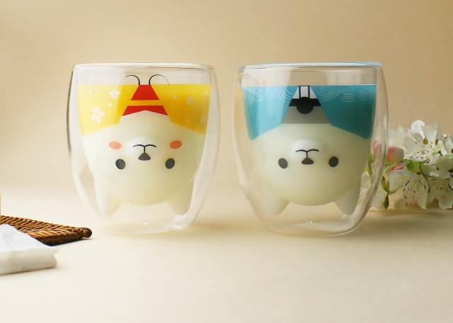 Add two more dapper Shiba glasses to your collection with Goodglas' new Wafuku Nakayoshi Set