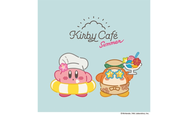 Get ready to mimic Kirby by inhaling plate after plate of cute summery food at the new Kirby Café!