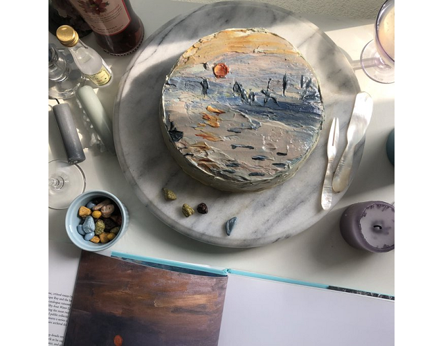 Japanese chef creates gorgeous Monet impressionist cake【Photos】