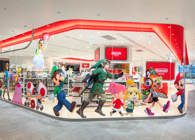Tokyo's dedicated Nintendo store finally begins offering its exclusive items online
