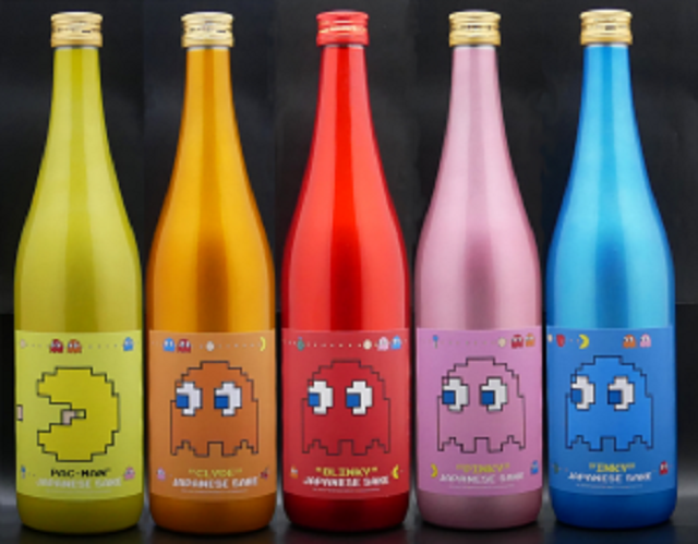 Pac-Man sake series coming to salute the video game star's 40th birthday