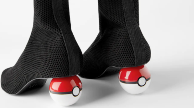 These Poké Ball high heels look like a joke, but they're official… and only available in China