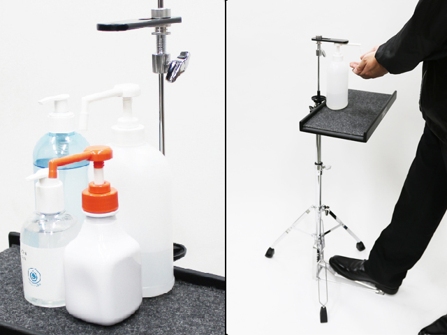 Drum-maker Pearl repurposes hi-hat pedals into alcohol dispensers
