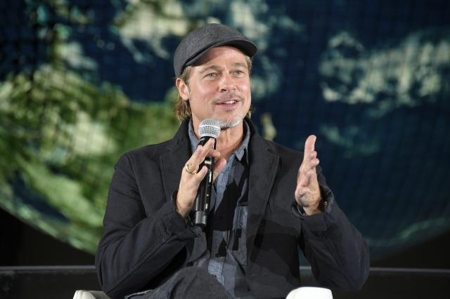 Brad Pitt discusses why his view on face masks changed in Japan