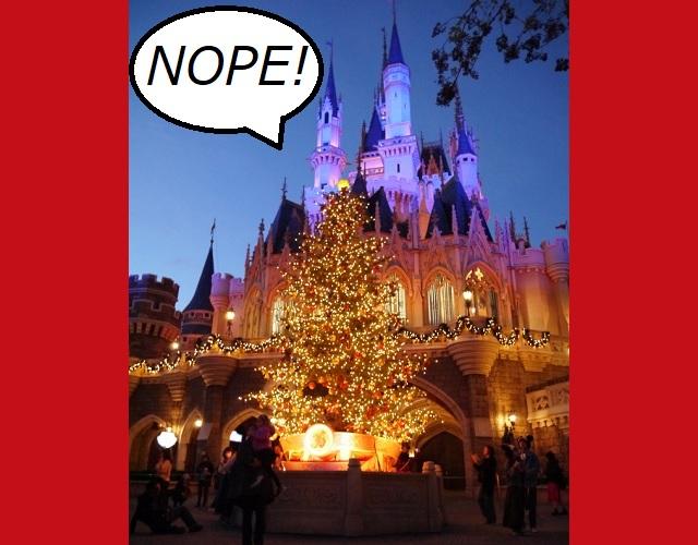 Tokyo Disneyland cancels Christmas