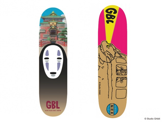 Official Studio Ghibli anime skateboards offered at brand-new Ghibli specialty shop in Tokyo【Pics】