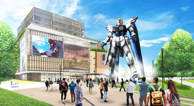 China is getting its own Gundam life-size anime robot statue